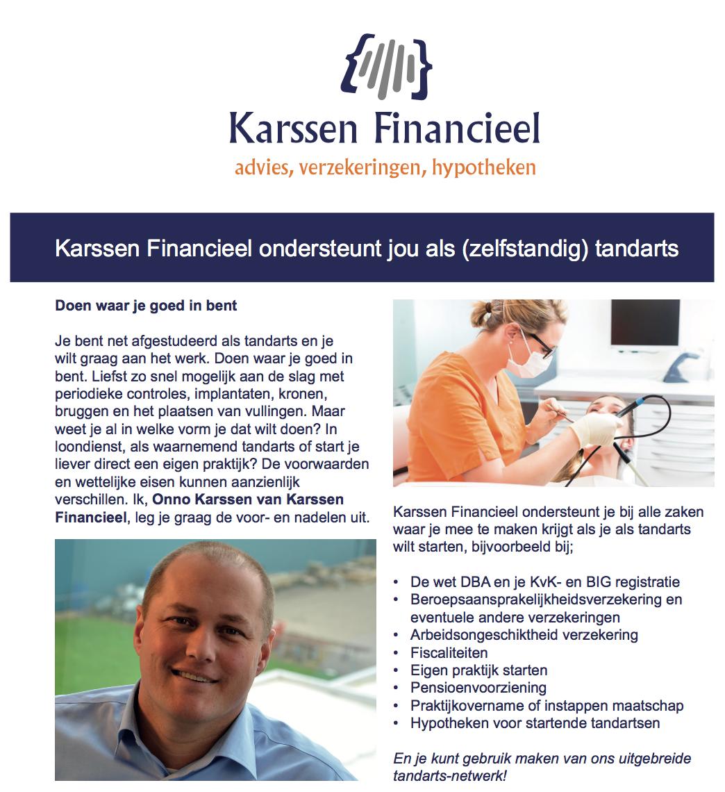 Lezing Karssen Financieel