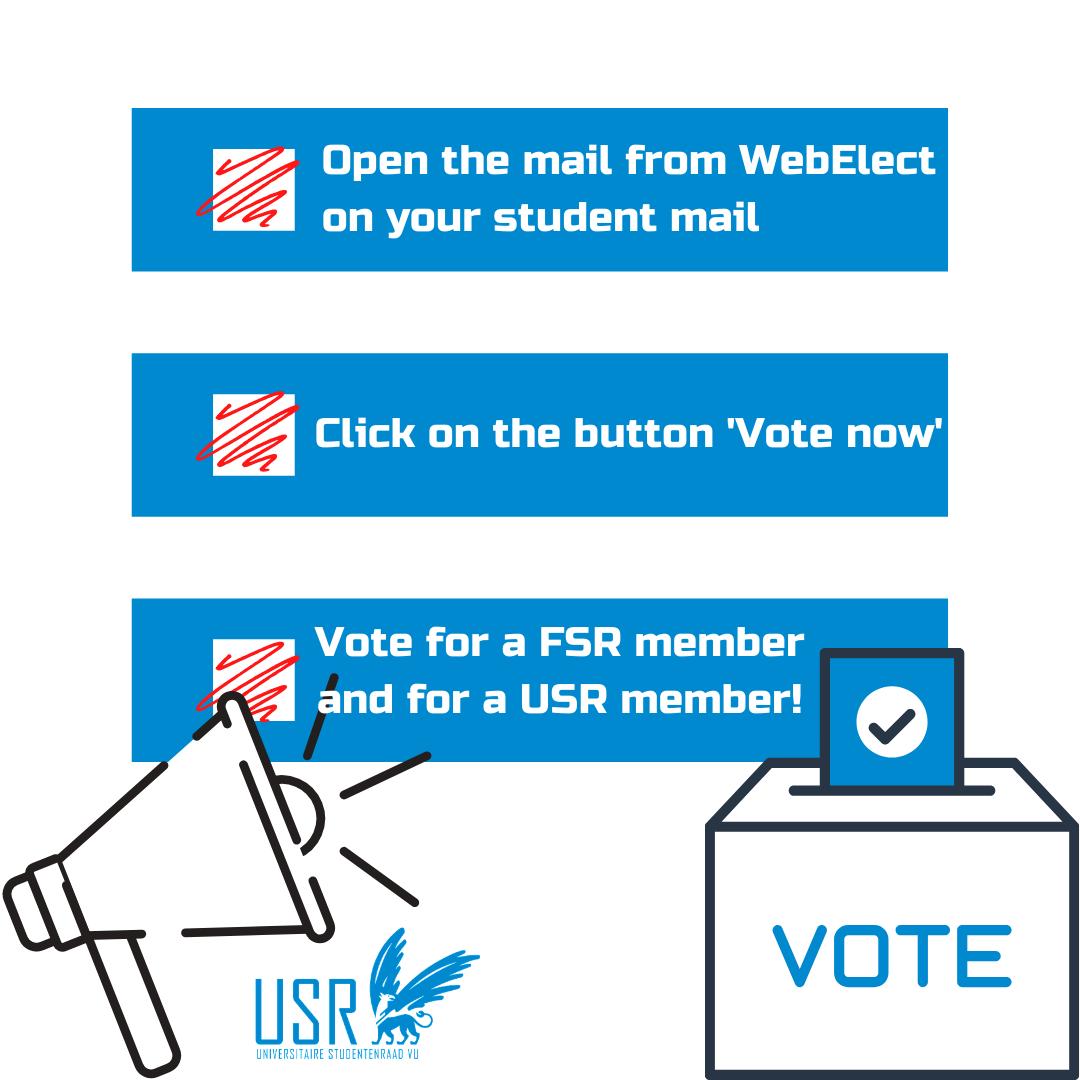 Studentenraad verkiezingen VU